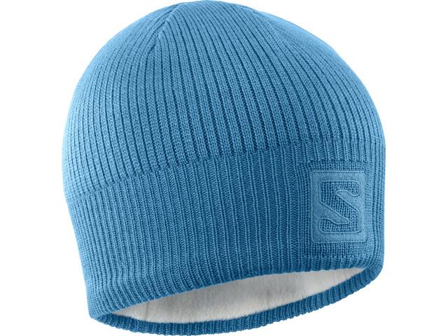 Salomon Logo Bonnet, fjord blue